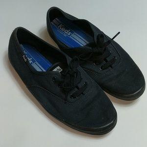 Keds 9.5 Black Sneaker
